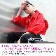 営業日は正午まで当日発送 ジージャン デニム ジャケット ダンス ヒップホップ キッズ 男の子 女の子 レディス ジュニア レディス Gジャン 長袖 上着 アメカジ ショート丈 レッド 110cm〜160cm  ネコポス配送(275円)可能