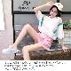 取寄せ納期約7〜14日 女の子 ルームウェア 部屋着 ジュニア セットアップ 子供服 上下セット パジャマ ダンス衣装にも 夏 ガールズ キッズ 女の子 ロゴ 女児 フリーサイズ ピンク/オレンジ 子供 小学生 中学生 ガールズ