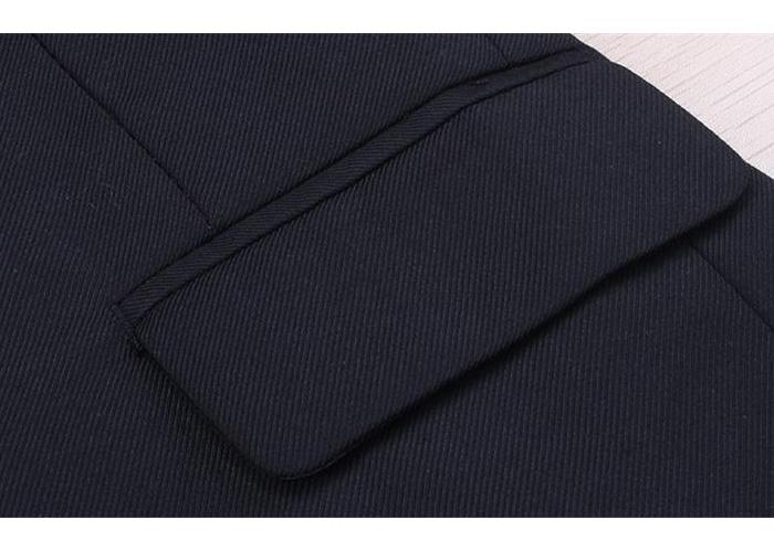 〔Yシャツもセット!〕フォーマル ブラック スーツ 男の子 スーツ 7点セット/男の子 フォーマル[3ピース スーツセット]ジャケット・パンツ・ベスト・Yシャツ・黒ネクタイ・蝶ネクタイ・ベルト※代金引換不可
