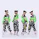 ウィンドブレーカー ネオングリーンジャケット 長袖 長そで ジャケット ブルゾン ジャンパー ジッパー トレンド アウトドア スポカジ フェス 野外スポーツ ダンス 衣装 ヒップホップ ダンス衣装 hiphop ガールズ 子供 衣装 アウトドア 夏フェス