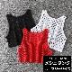 取寄せ納期約7〜14日 メッシュ タンクトップ キャミソール カラー タンクトップ トップス シャツ カジュアル  ジュニア 女の子 ブラック/ホワイト/レッド 子供 ダンス衣装 ヒップホップ スポカジ カジュアル 女子 レディス