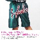 バスパン ズボン ハーフパンツ パンツ サテン ダンス 衣装 ヒップホップ キッズ 男の子 女の子 レディス ジュニア レディス☆ボトムス グリーン パンツ アメカジ 110cm〜160cm ガールズ〔ネコポスOK(送料275円)〕