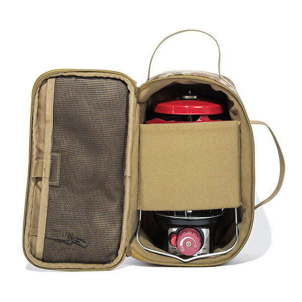セミハードギアバッグ Mサイズ (ウルフブラウン)