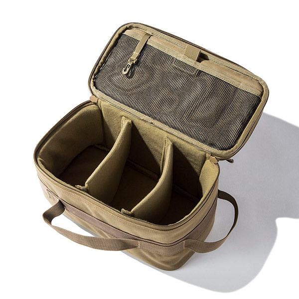 セミハードギアバッグ Mサイズ (ブラックカモ)