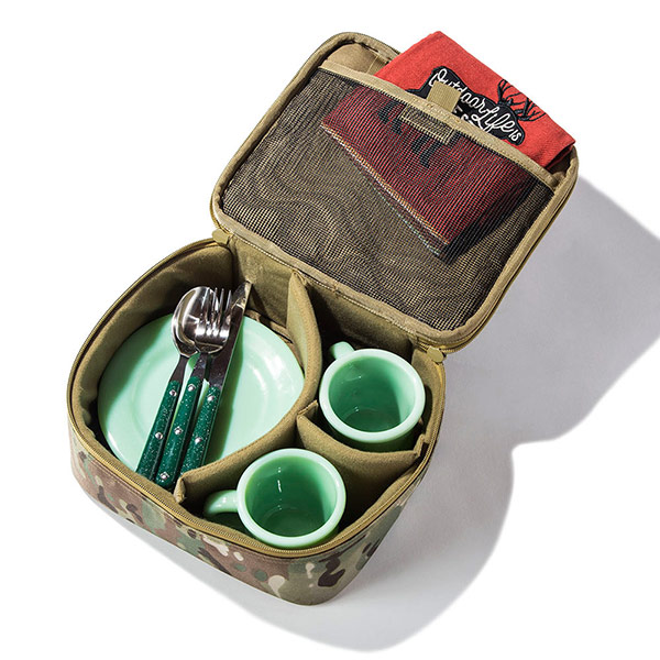 セミハードギアバッグ M-FLATサイズ (ウルフブラウン)