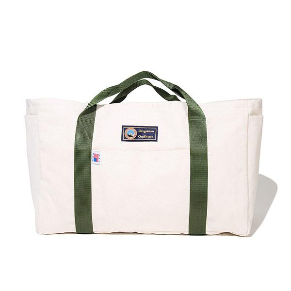 キャンパーギア トートバッグ (ホワイト×ホワイト)