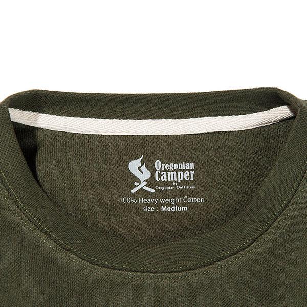ヘビーウェイト キャンプTシャツ <キャンプTEE> (オートミール)
