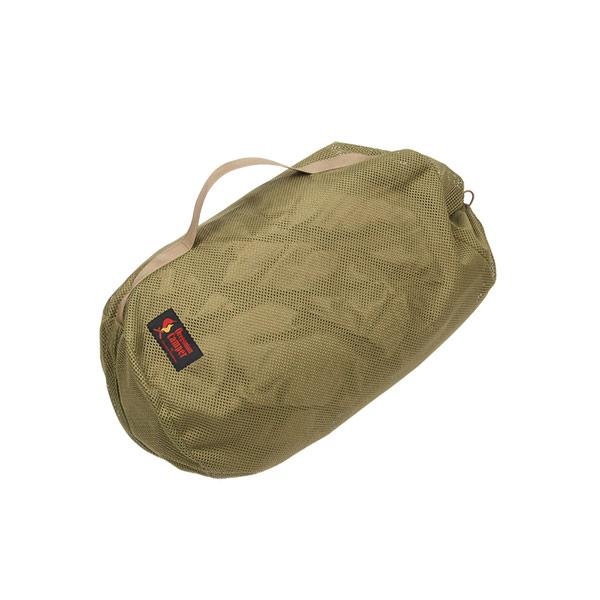 メッシュシリンダーバッグ <LARGE> (コヨーテ) MESH SYLINDER BAG