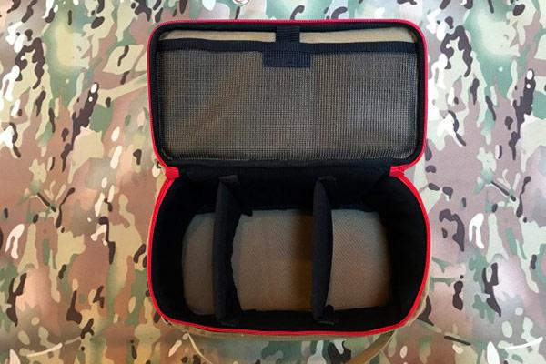 セミハードギアバッグ Mサイズ (コヨーテ×マルチカモ)