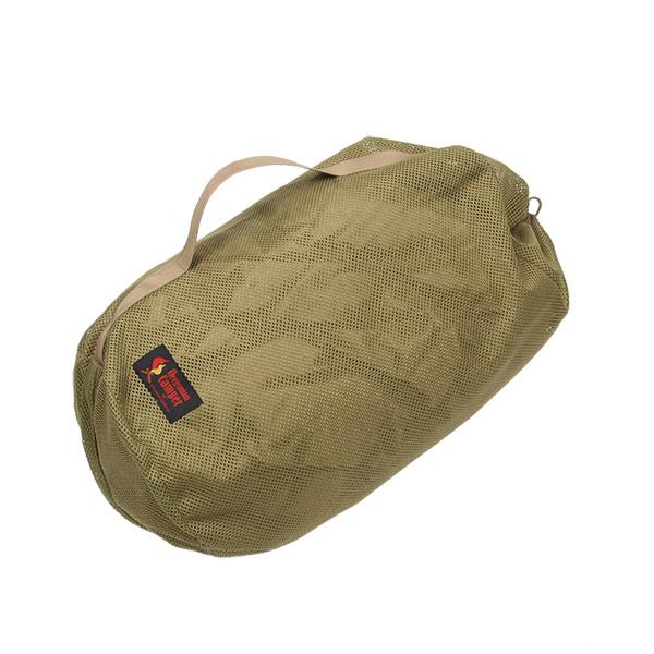 メッシュシリンダーバッグ <SUPER> (コヨーテ) MESH SYLINDER BAG