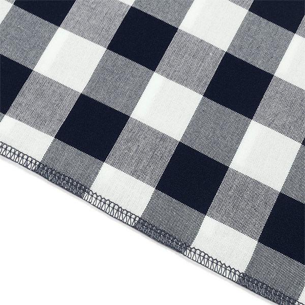 テーブルクロス <ギンガムチェック デニム> (Lサイズ)