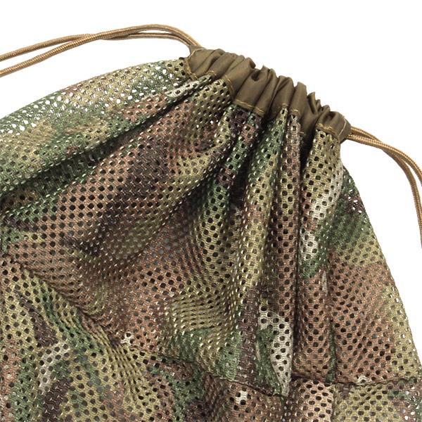 メッシュシリンダーバッグ <SUPER> (マルチカモ) MESH SYLINDER BAG