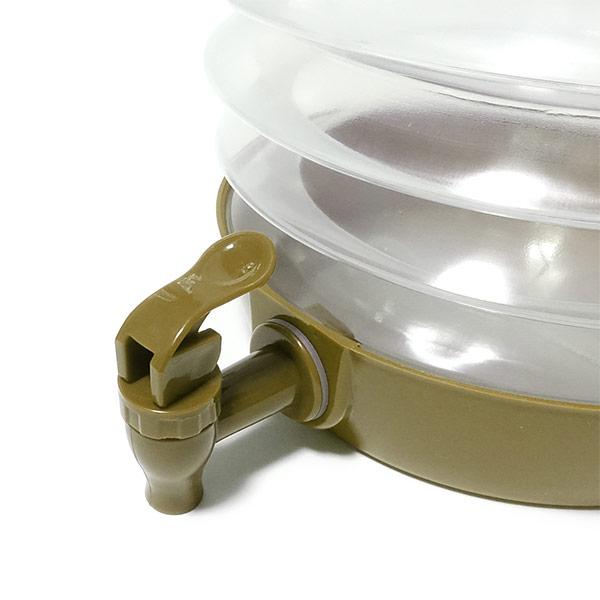 折りたたみ式 ウォータージャグ (コヨーテ) WATER JUG 5.5L