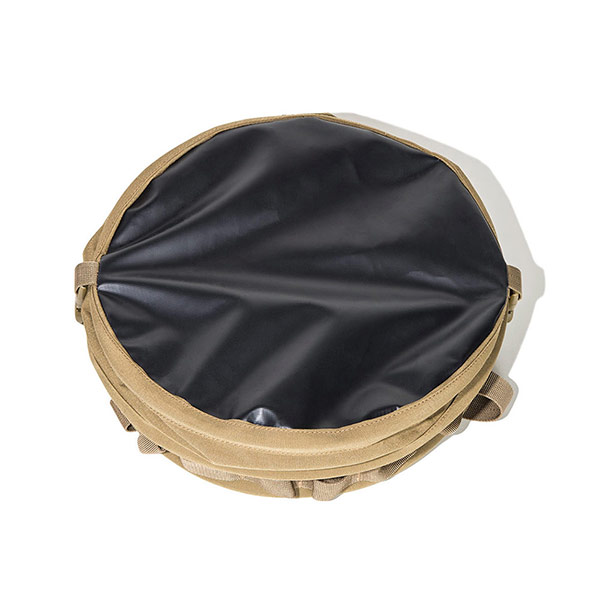 テントイン ポップアップ トラッシュボックス (デザートカモ)