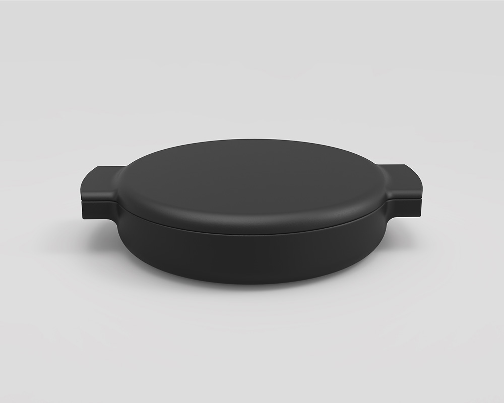 ovject | Enameled Cast Iron Pan 鋳物ほうろう両手鍋