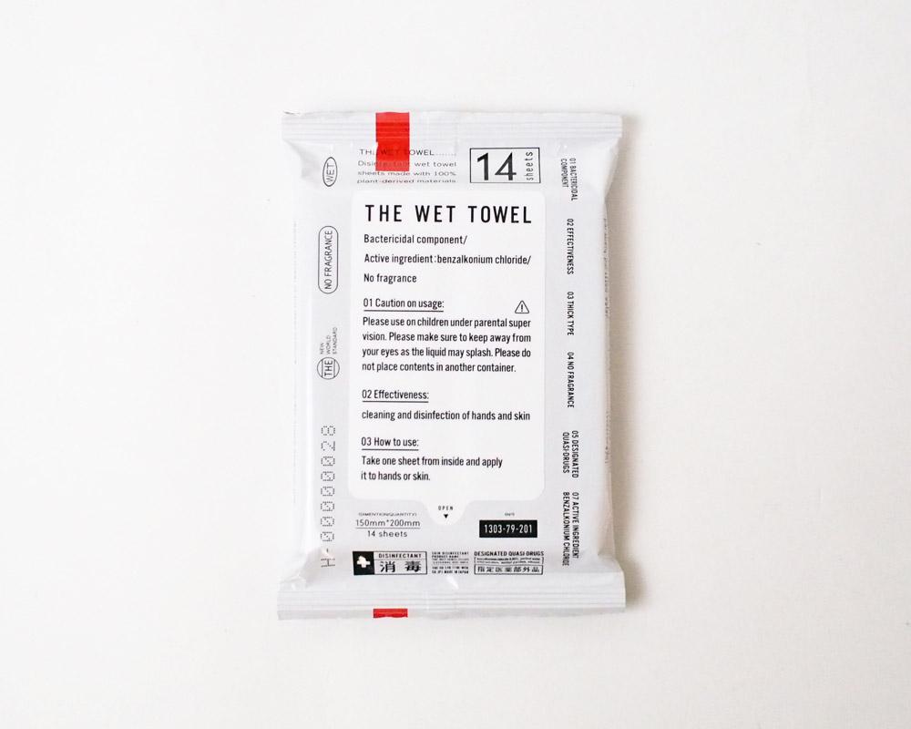THE | WET TOWEL ザ・ウェットタオル