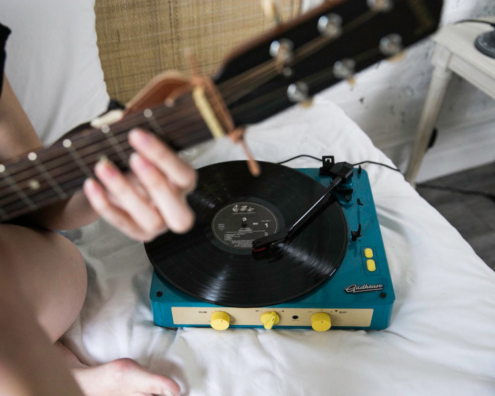 GadHouse   BRAD RECORD PLAYER [3color] ブラッドレコードプレーヤー