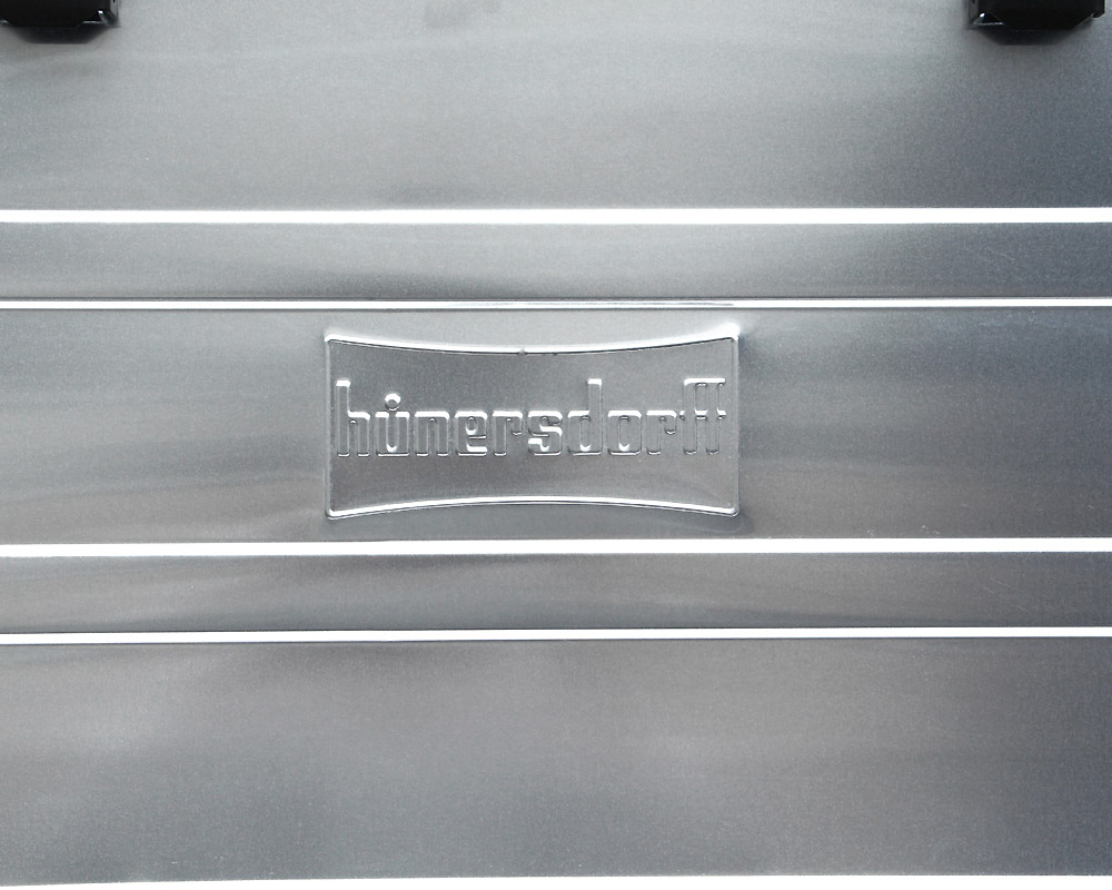Hunersdorff   Aluminium Profi Box 30L アルミプロフィーボックス/アルミコンテナ