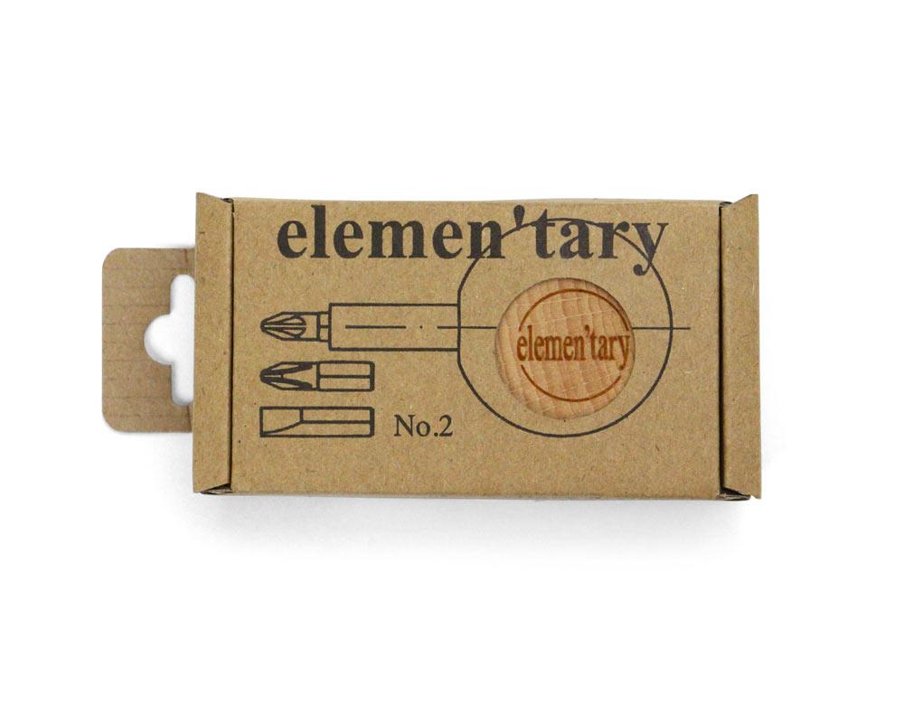 elemen'tary design   NO.2 Screwdriver Set NO.2スクリュードライバーセット