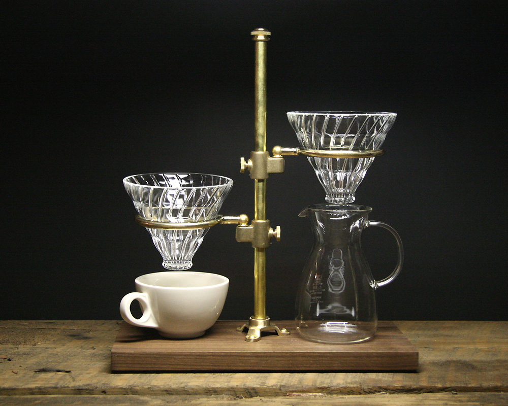 The Coffee Registry  | Clerk duet Pour Over Stand  クラークデュエットポーオーバースタンド