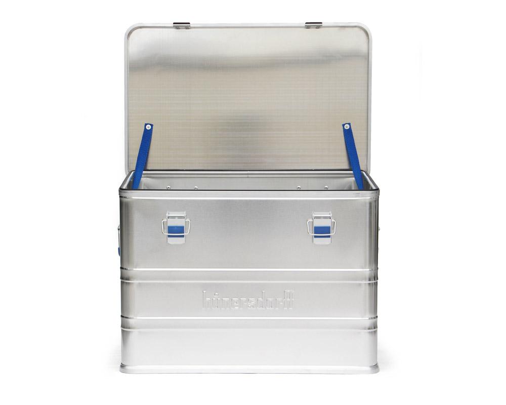 Hunersdorff   Aluminium Profi Box 73L アルミプロフィーボックス/アルミコンテナ