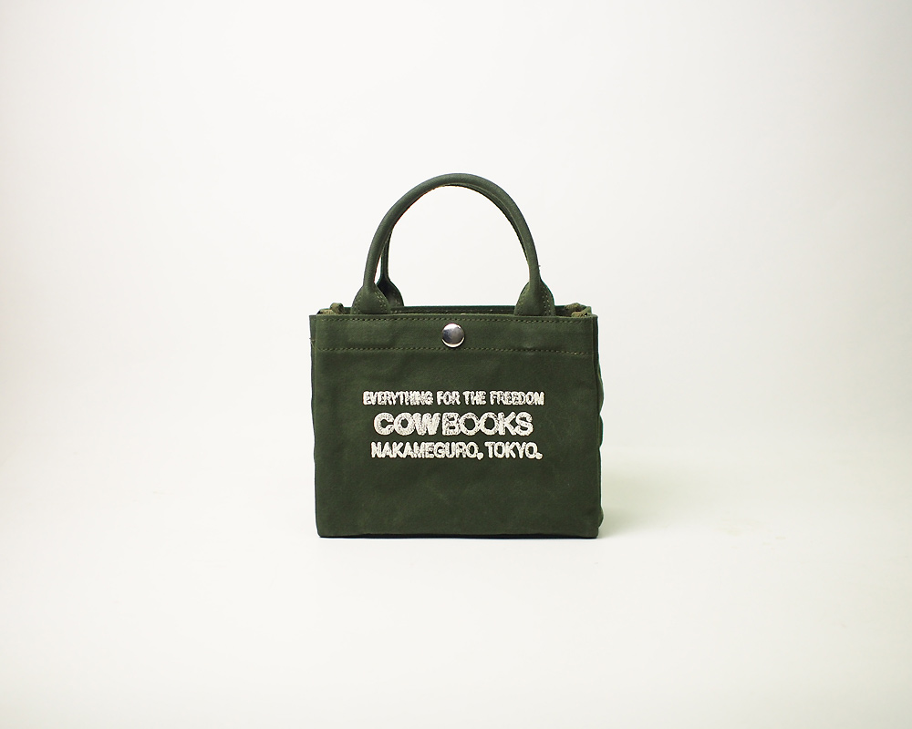 COW BOOKS | Container Tote Mini コンテナトート ミニ