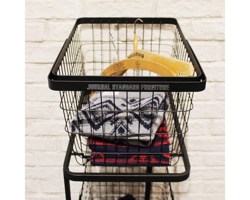 journal standard Furniture | JSF LAUNDRY WAGON BASKET SET ランドリーワゴンバスケットセット