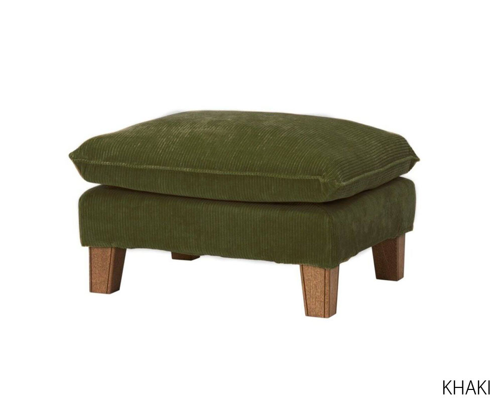 journal standard Furniture | SOPHIA OTTOMAN Corduroy [2color] ソフィアオットマン コーデュロイ
