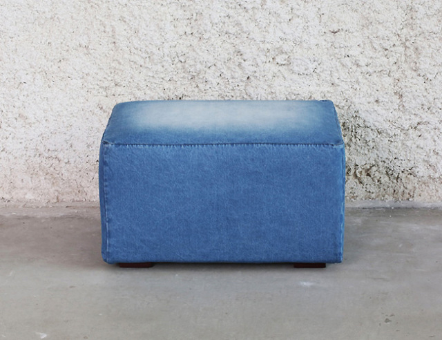 journal standard Furniture | FRANKLIN OTTOMAN DENIM フランクリンオットマン デニム