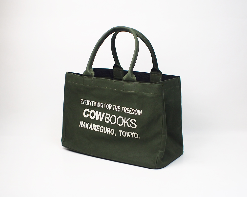 COW BOOKS | Container Tote Small コンテナトート スモール