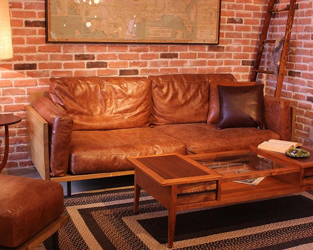 ACME Furniture | CORONADO SOFA Crack Leather コロナドソファ クラックレザー