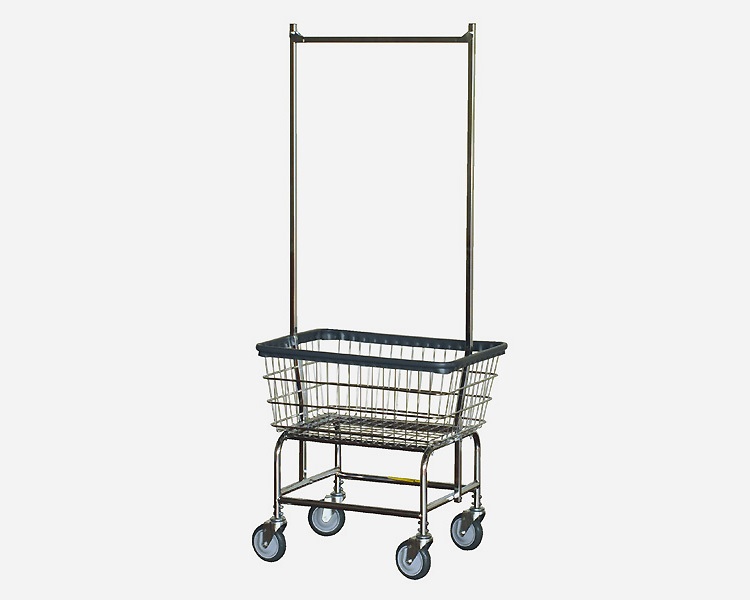 R&B Wire Products USA | LAUNDRY CART Double Pole ランドリーカートダブルポール