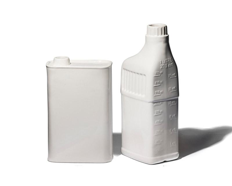 PUEBCO | OIL CAN / BOTTLE SHAPED FLOWER VASE オイルカン/ボトルシェイプド フラワーベース
