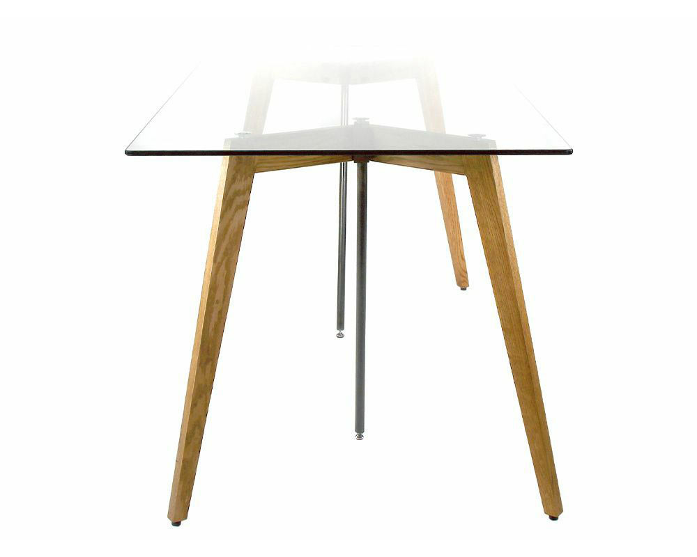 a.depeche   G-knot glass table 1500 ジーノットグラステーブル