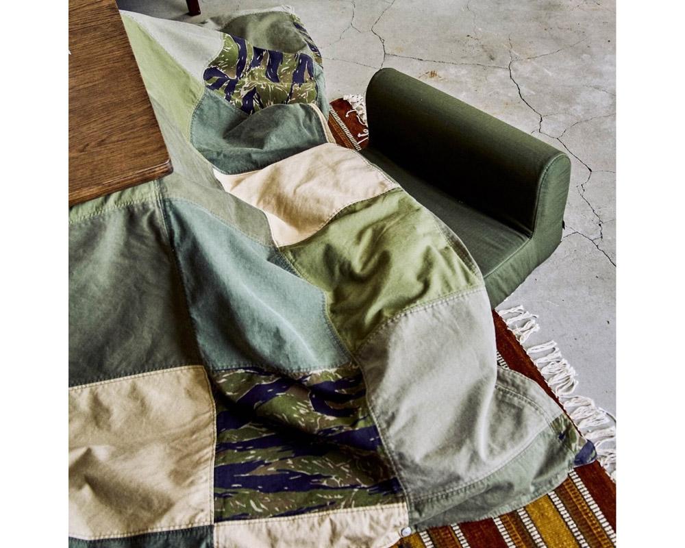 journal standard Furniture   CS FUTON COVERLET / MILITARY PATCWORK コタツ布団カバー ミリタリー