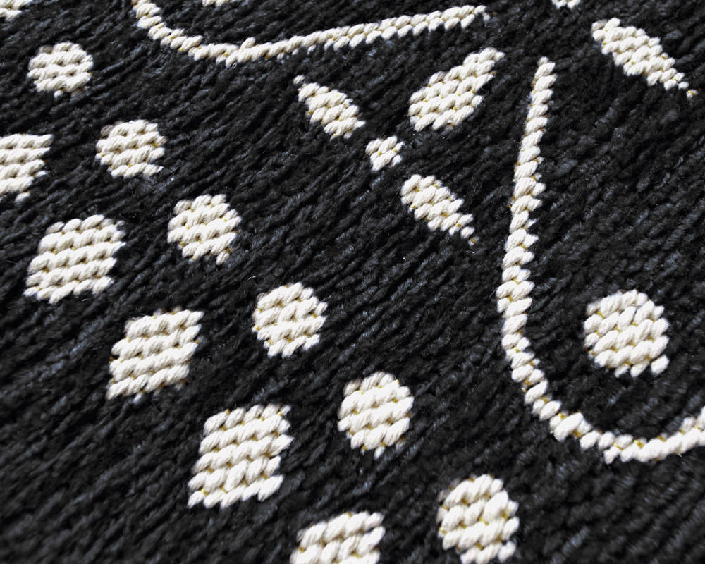 DETAIL | Cross Bandana Rug Black [4size] クロスバンダナラグ ブラック