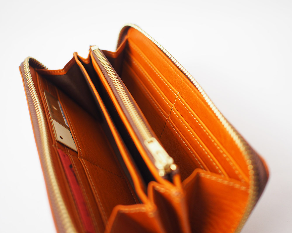 SLOW | bono round long wallet [3color] ボーノ ラウンドロングウォレット/ 財布