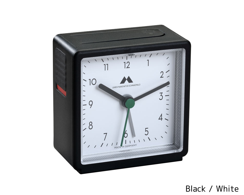 Uhren Manufaktur Schwarwald   Quartz Alarm Clocks [4color] クオーツアラームクロック