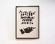 A TWO PIPE PROBLEM LETTERPRESS | SOME ALL POSTER サムオール ポスター