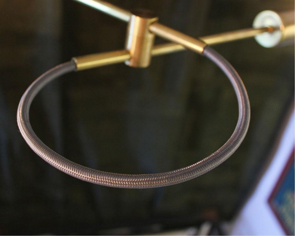 ACME Furniture | Solid Brass Lamp Tri Loop Lamp ソリッドブラスランプ トリループランプ
