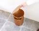 SAITO WOOD   Small Table & Dust Box Teak grain スモールテーブル&ダストボックス チーク