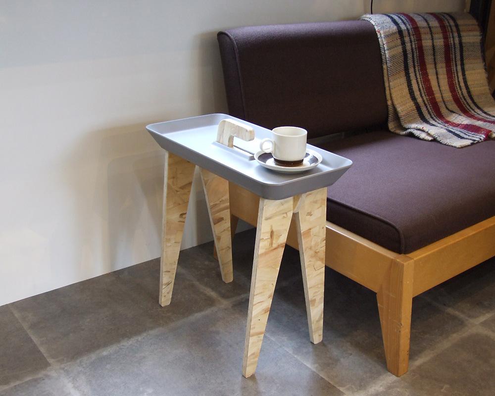 "ideaco | Side Table ""Tiny Walk"" サイドテーブル タイニーウォーク"
