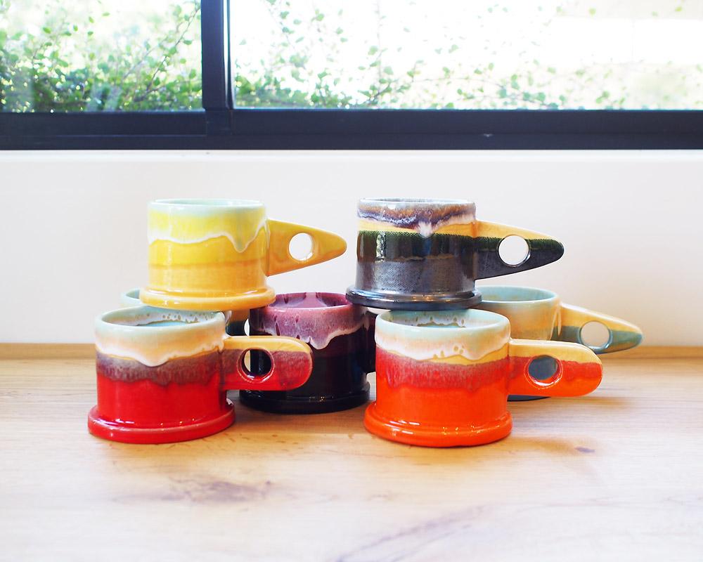ECHO PARK POTTERY   Mug Cup (Y) エコパークポタリー マグ