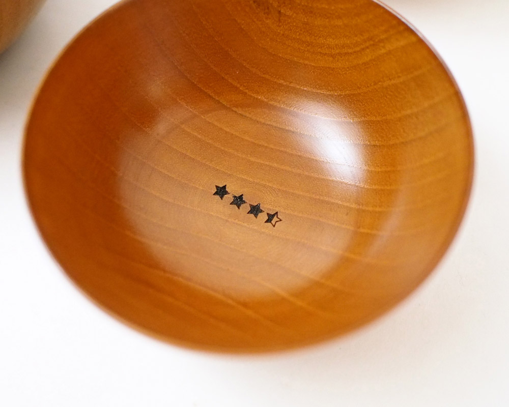 &NUT | Wooden Camp Bowl Set3 ウッデンキャンプボウル3個セット