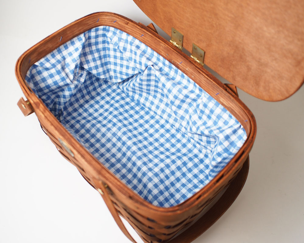Peterboro Basket Co. | Basic Deluxe Picnic Basket デラックスピクニックバスケット