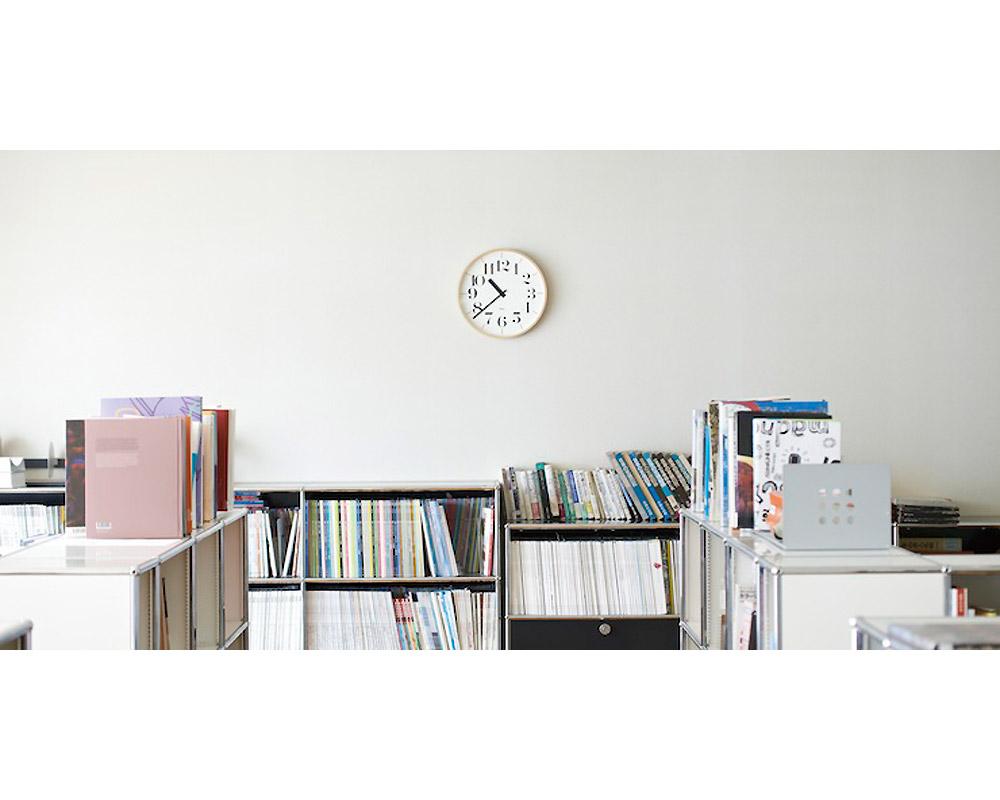 Lemnos   Riki Clock RC [2size] リキクロック 電波時計/太文字