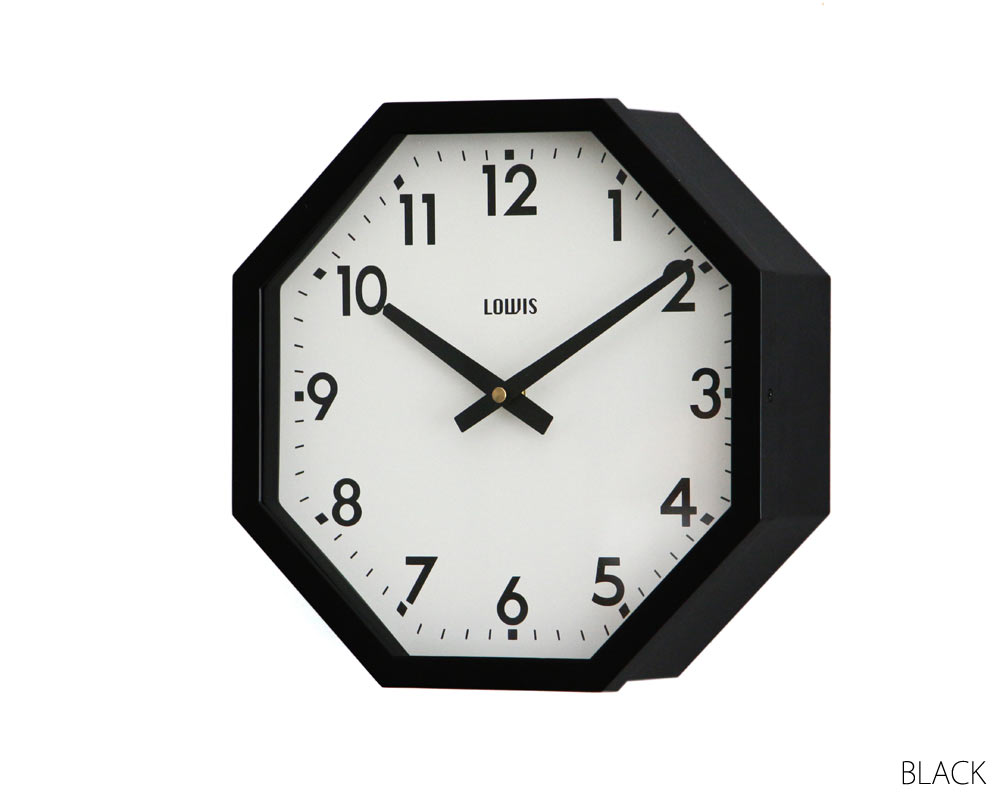 Lowis Industry | Lowis Octagon Clock [2color] ルイスオクタゴンクロック