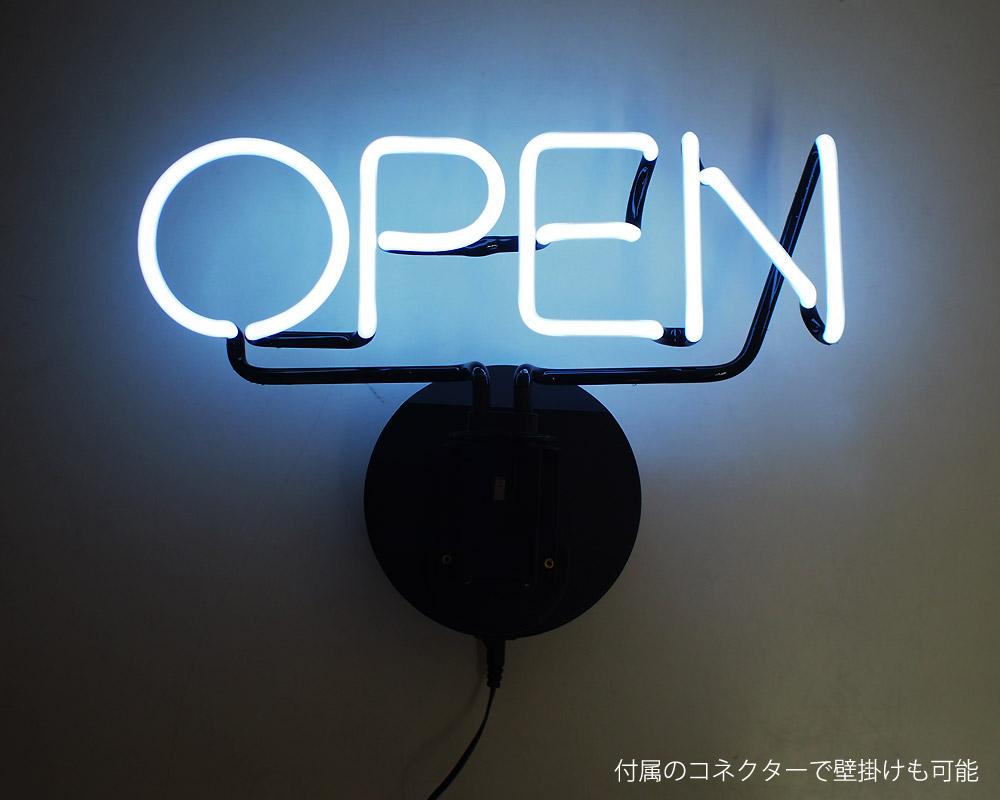 SLOWER | 2WAY NEON SIGN OPEN 2ウェイネオンサイン オープン