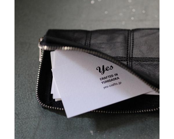yes crafts | Square Card Cse [5color] スクエアカードケース/ ミニ財布