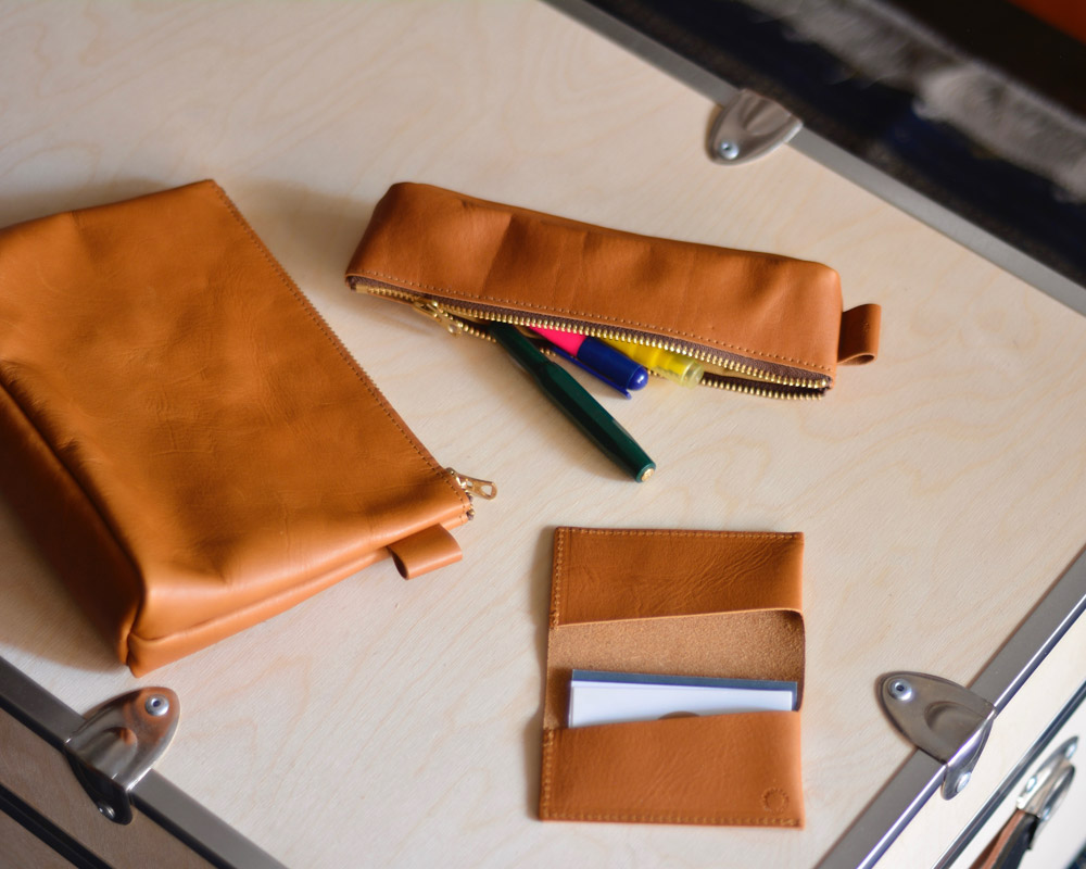 Landscape Products | Leather Series Pen Case レザーペンケース